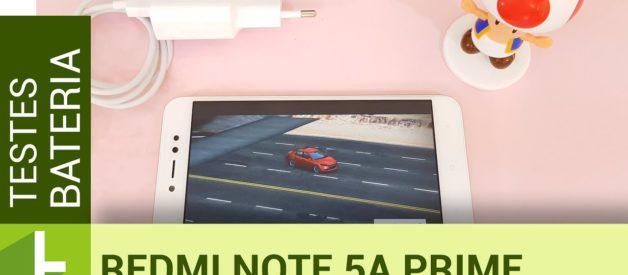 Autonomia do Xiaomi Redmi Note 5A Prime | Teste de bateria oficial do TudoCelular.com