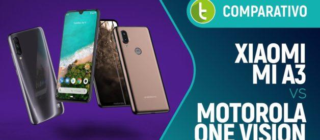 Xiaomi Mi A3 vs Motorola One Vision: qual é o melhor Android One? | Comparativo