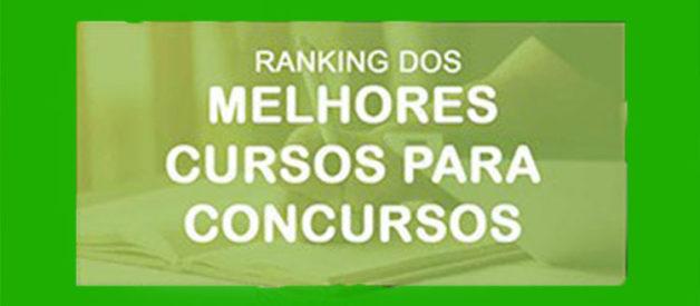 Ranking dos melhores cursos preparatórios para concursos