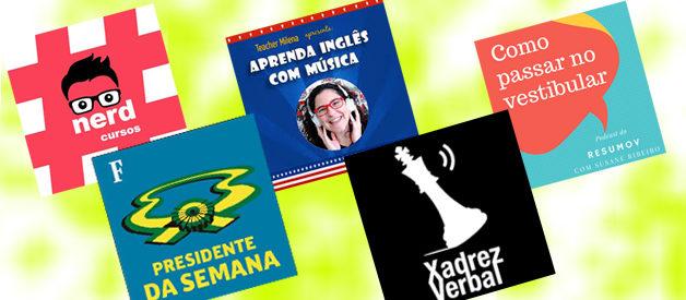 Podcasts para estudar para o Enem e vestibulares